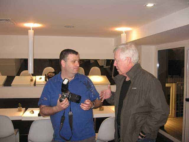 Barak Weiss and Joe Hunt