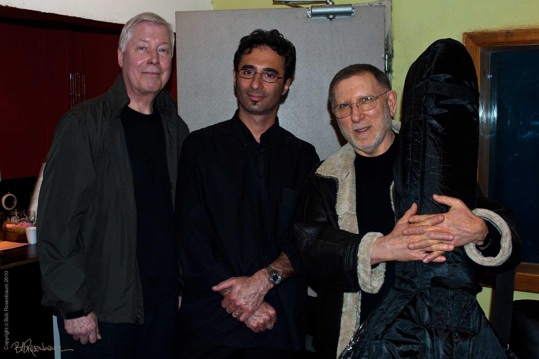 Joe Hunt, Alec Katz & Chuck Israels at Shablul Club