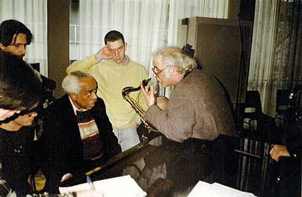 Alec with Barry Harris