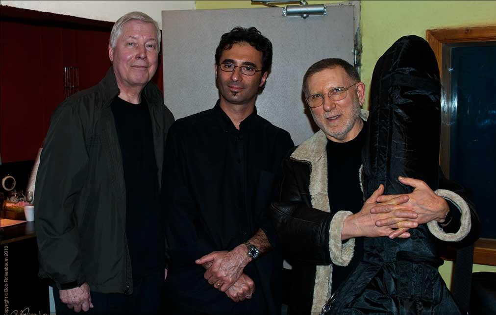 with Joe Hunt and Chuck Israels, Shablul Jazz Club Tel Aviv 2010