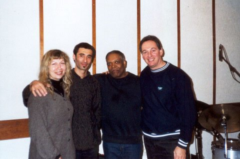 Alec with Billy Hart, Simona, Eli Magen