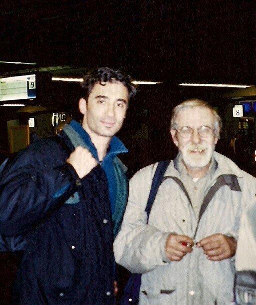 Alec with Frans Elsen