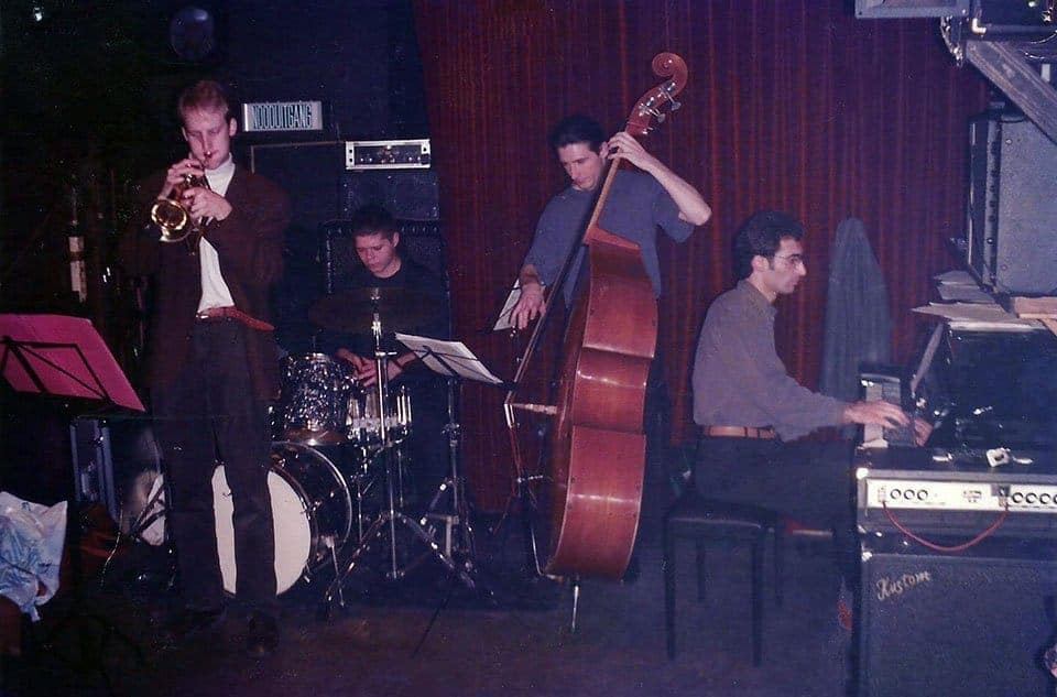 Alec at Cafe De Pater '97