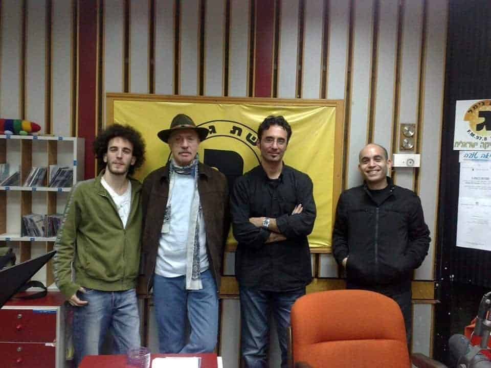 Alec at Reshet Gimel Radio Jerusalem