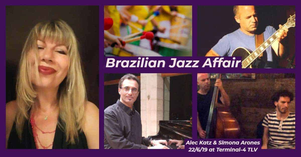 Brazilian Jazz Affair Poster