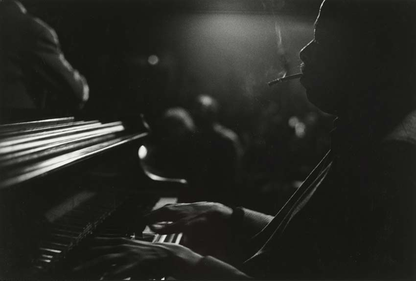 Barry Harris New York 1985, photo by Beuford Smith
