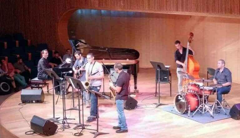 Alec with CJS Ensemble